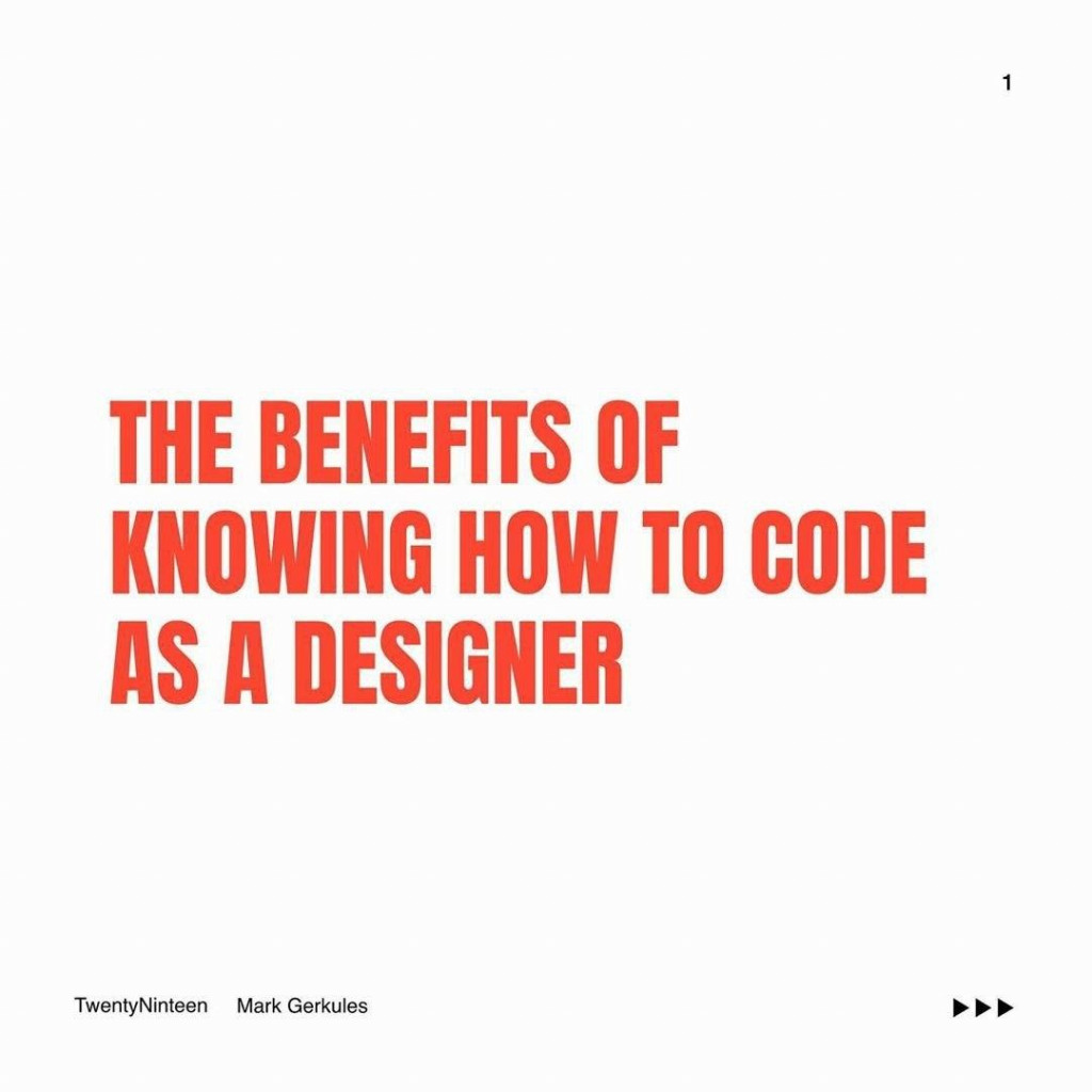 The Benefits of Knowing How to Code as a Designer