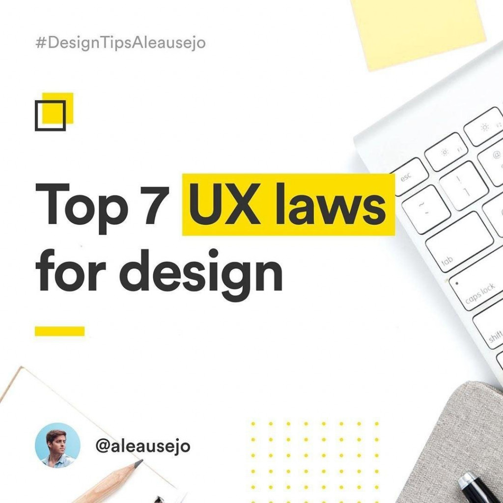 7 laws of UX design
