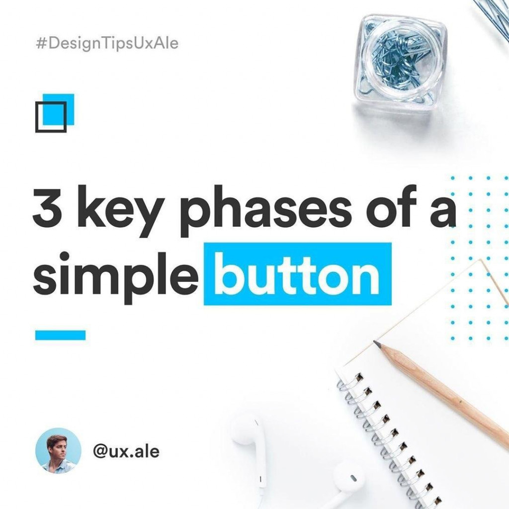 3 key phrases of a simple button