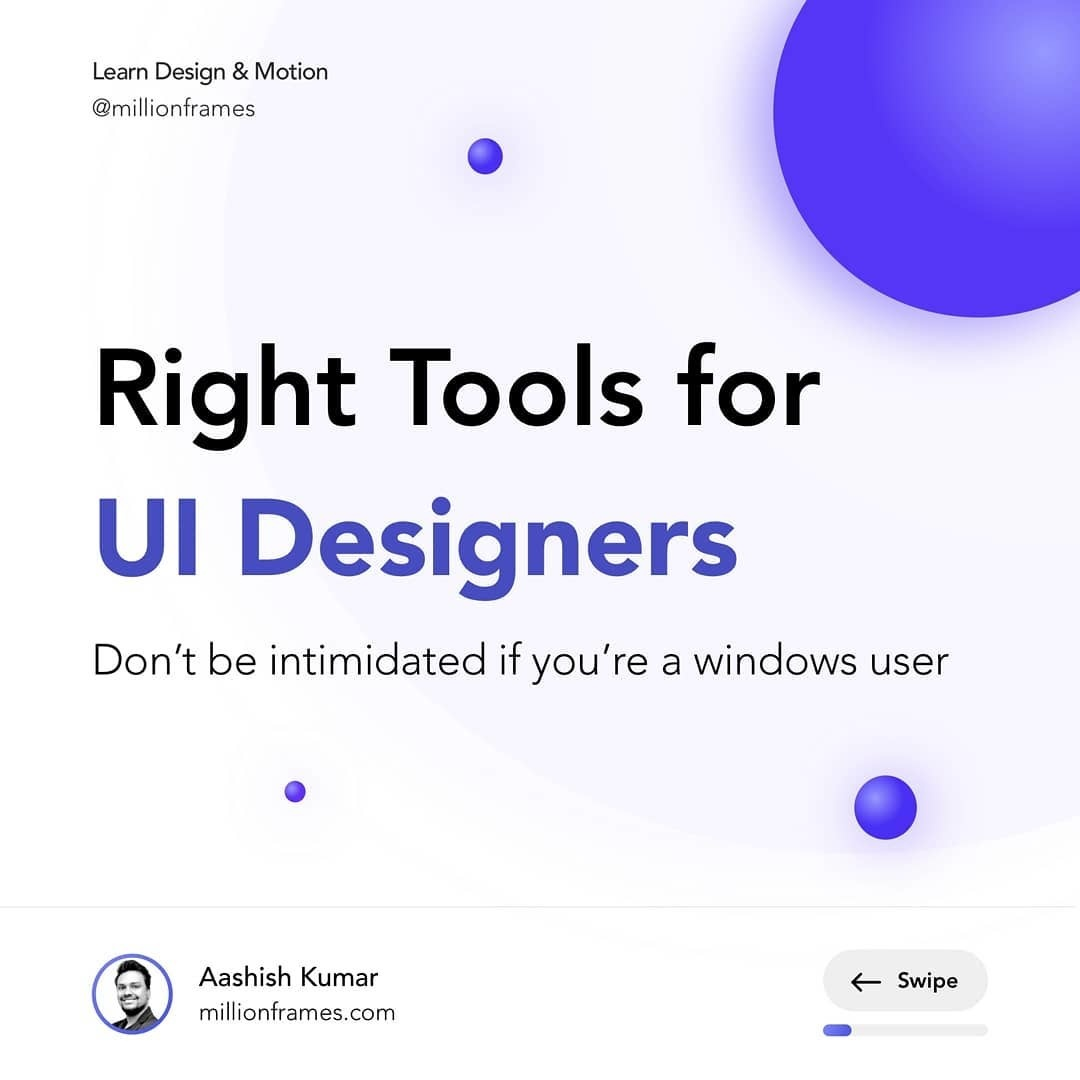 What industry standard tools are there for UI designers?