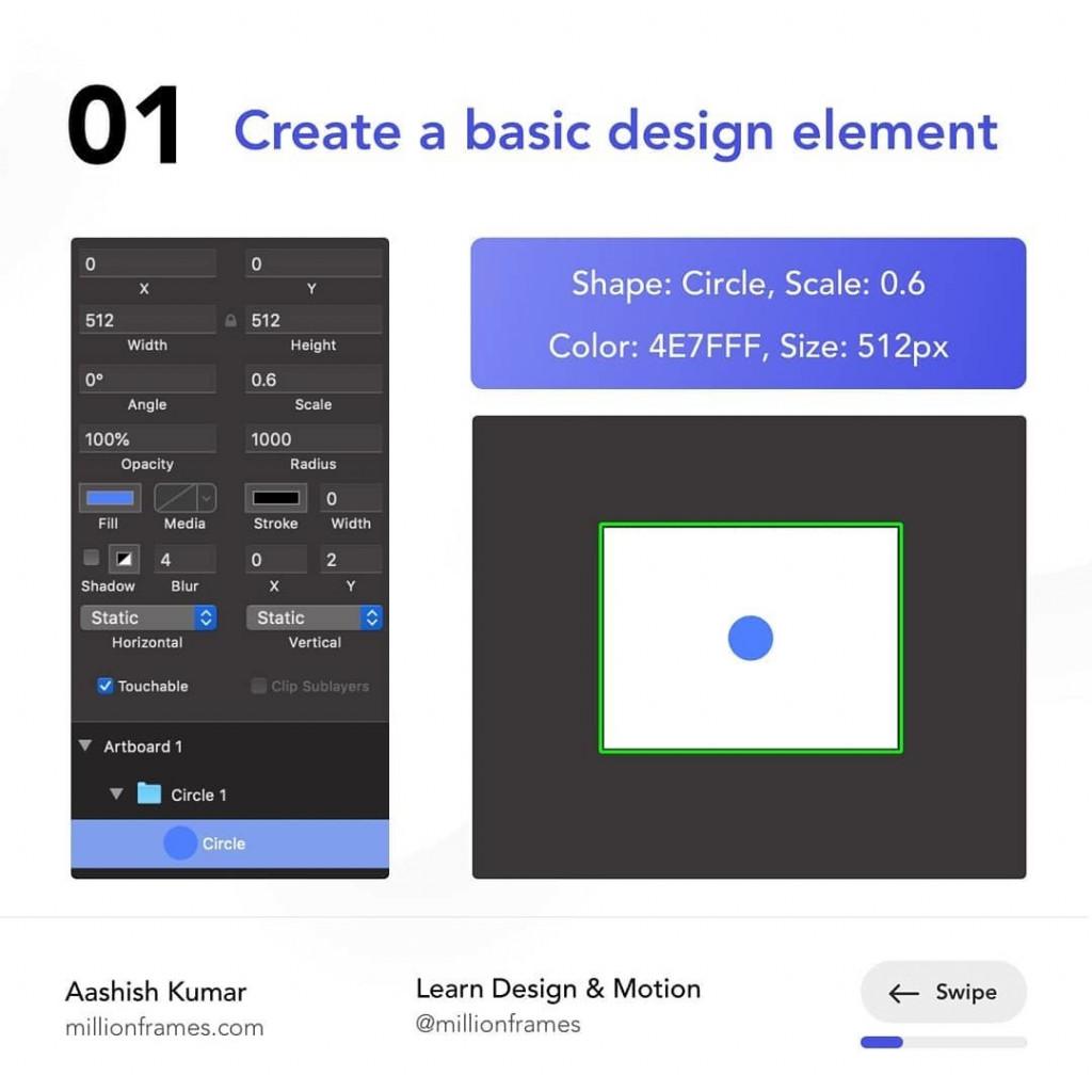 Create a basic design element