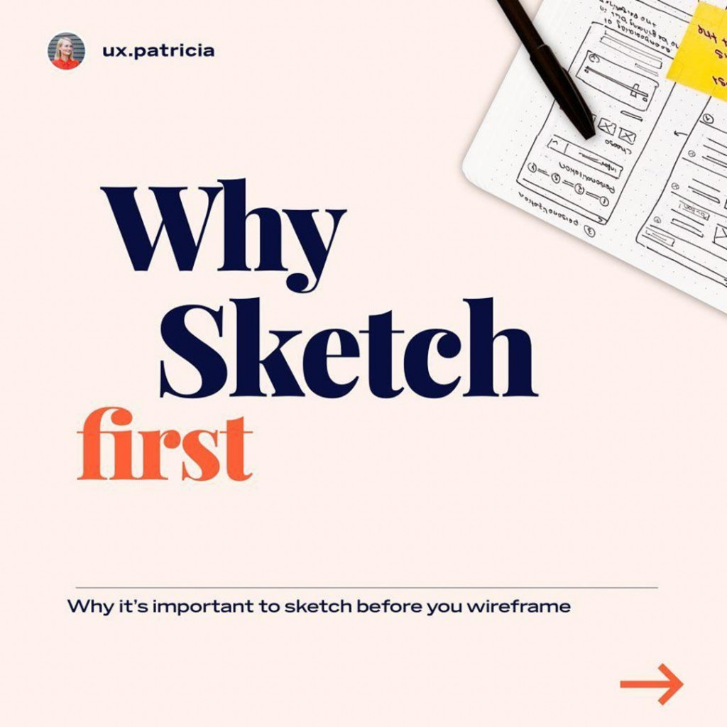 Why sketch first