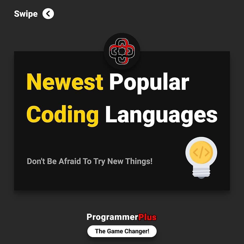 Newest Popular Coding Languages