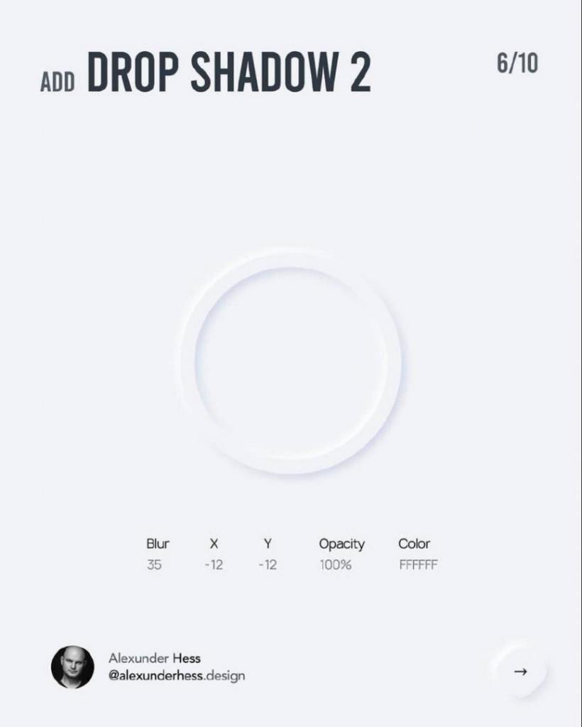Add DROP SHADOW 2