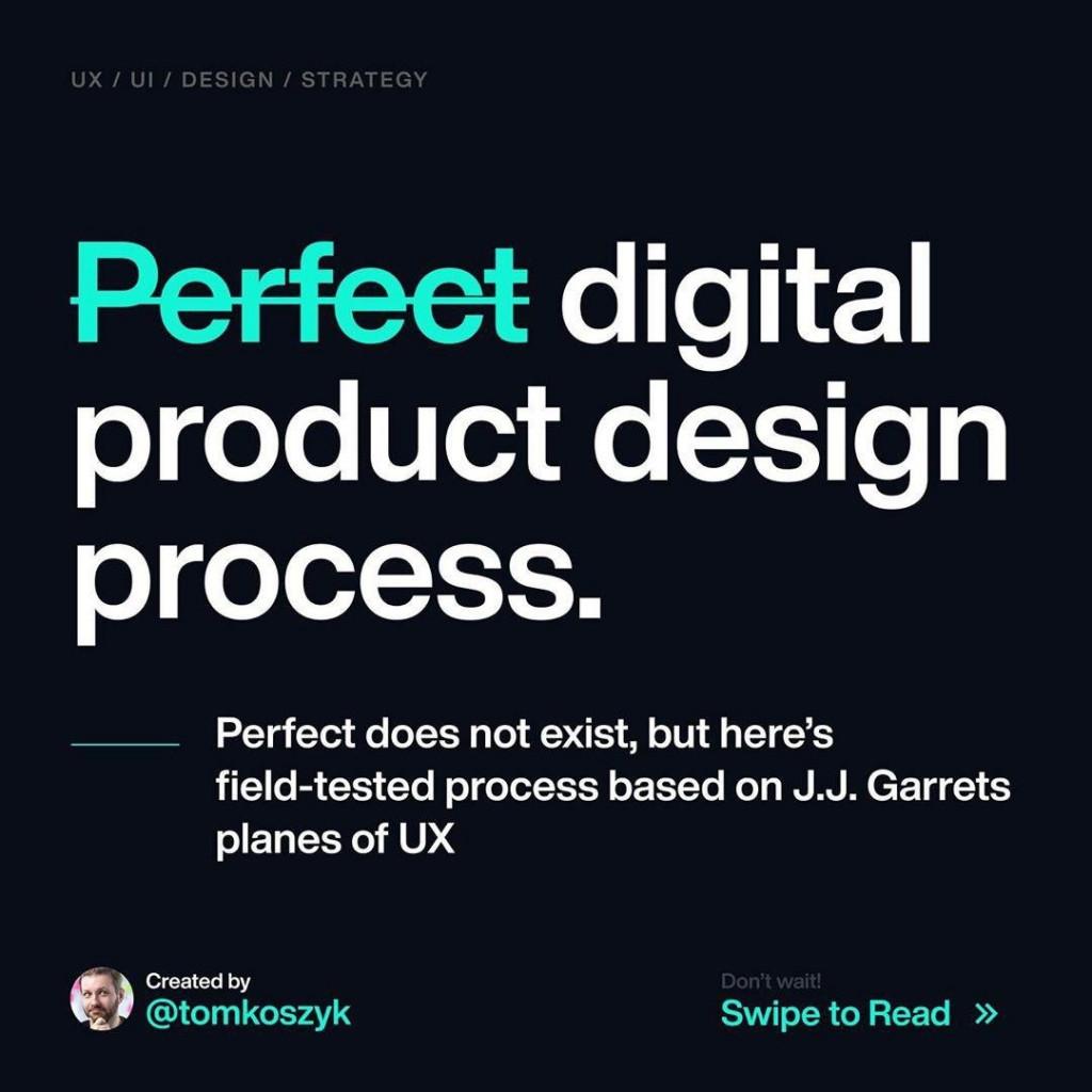Perfect digital product design process