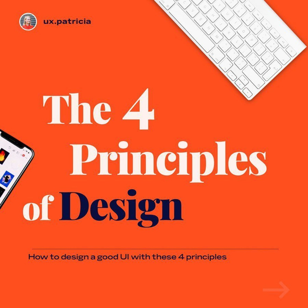 The 4 Principles of Design
