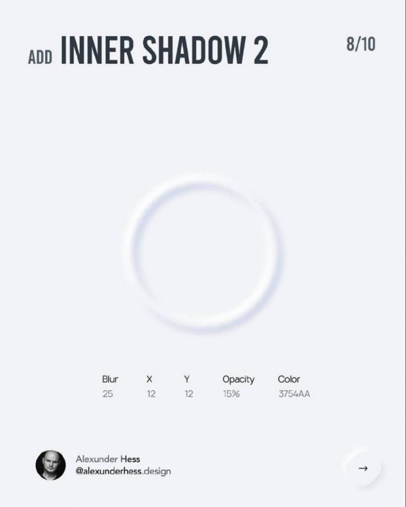Add INNER SHADOW 2