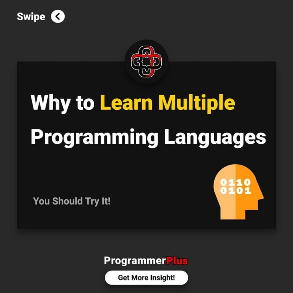 Why Learn Multiple Programming Languages
