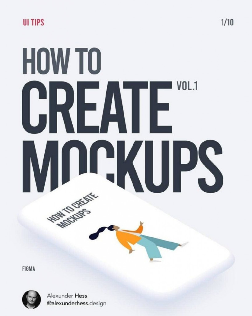 How to create mockups. vol.1