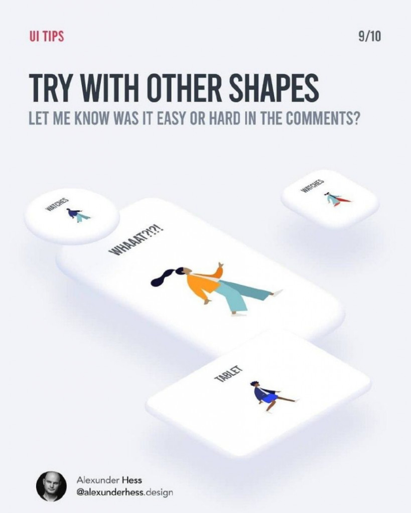 TRY WITH OTHER SHAPES