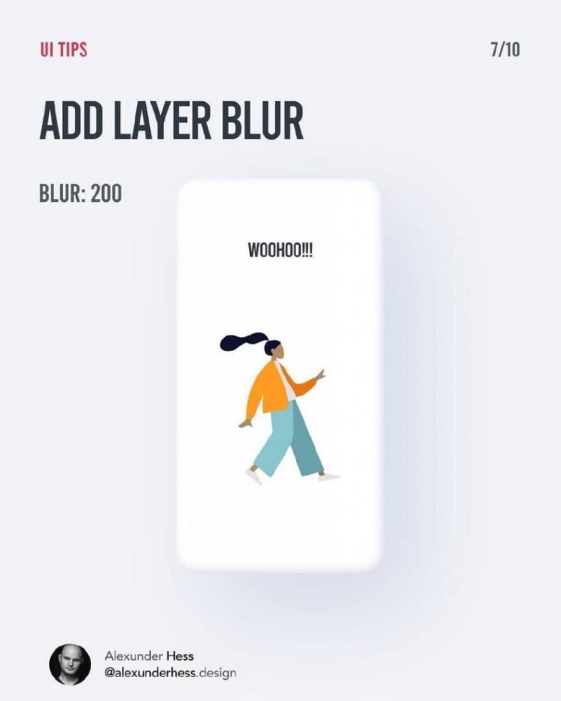 ADD LAYER BLUR  BLUR:200