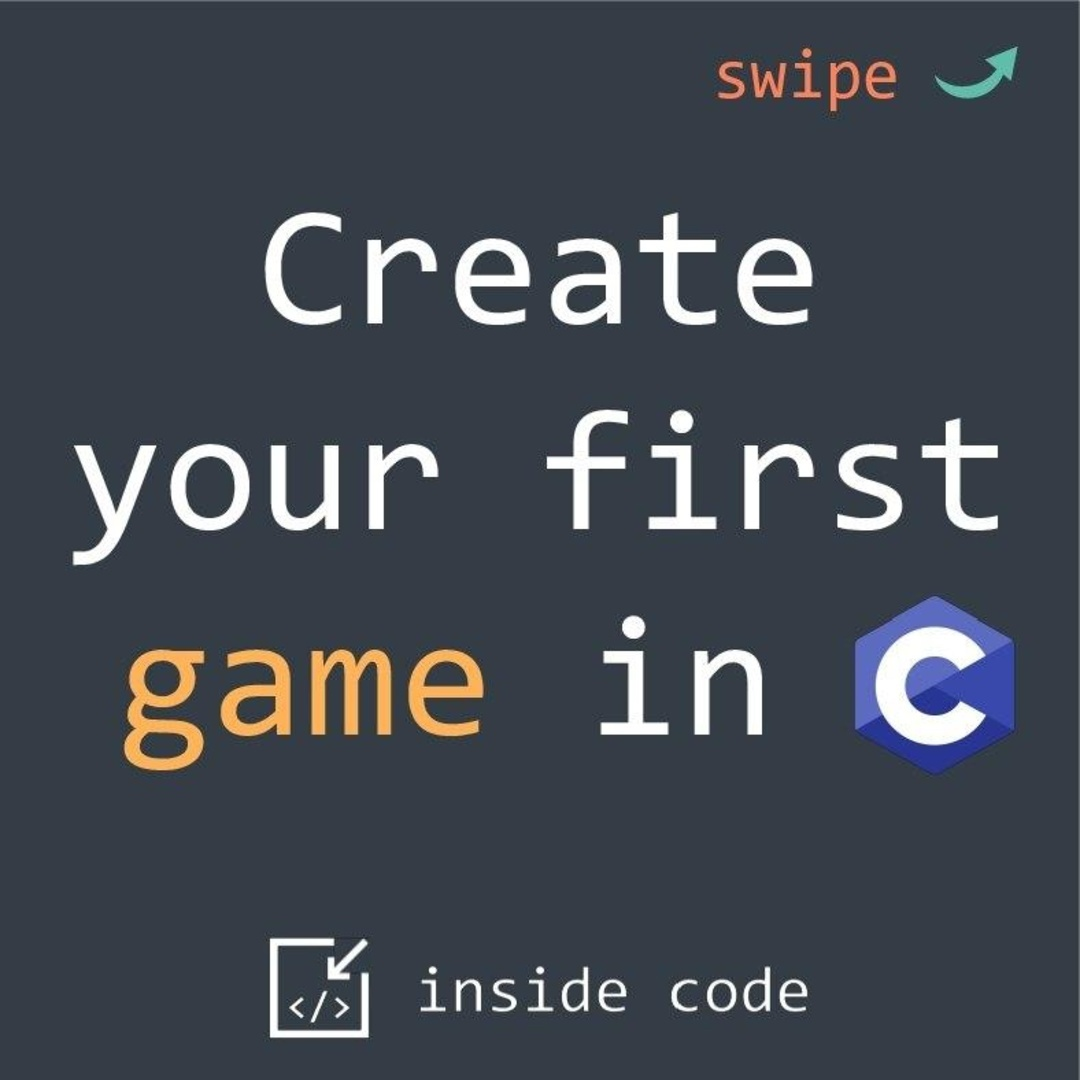 Create Your First Game on C