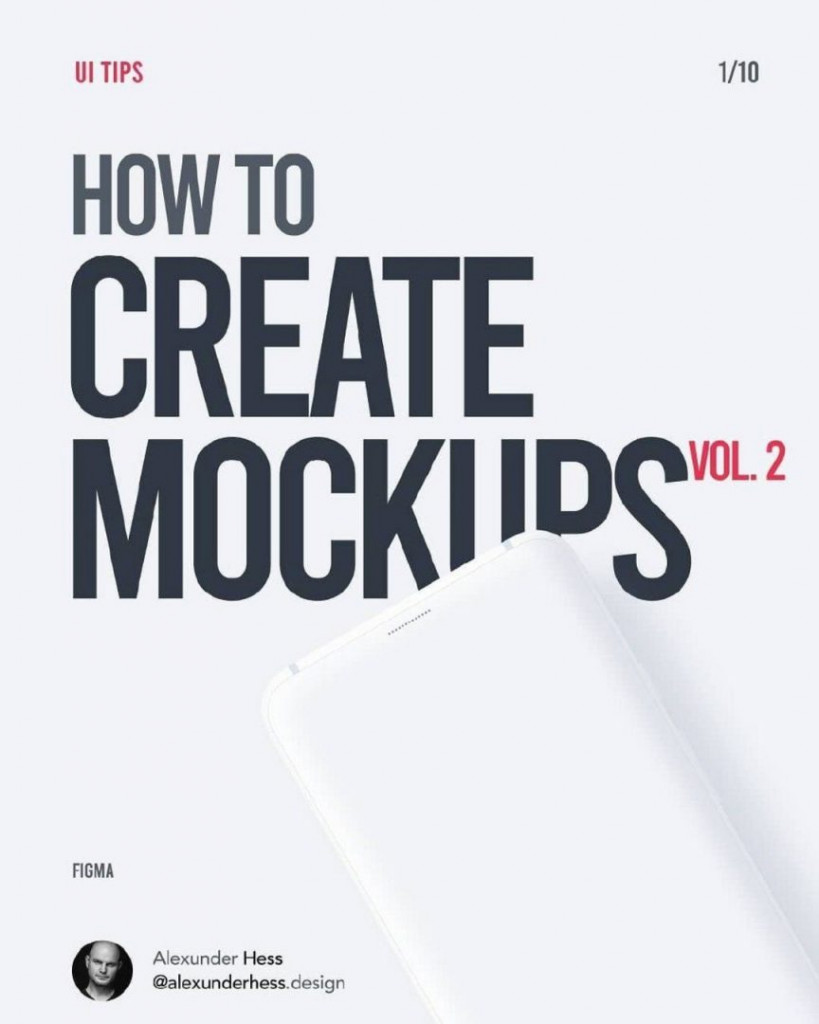 How to Create Mockups vol.2