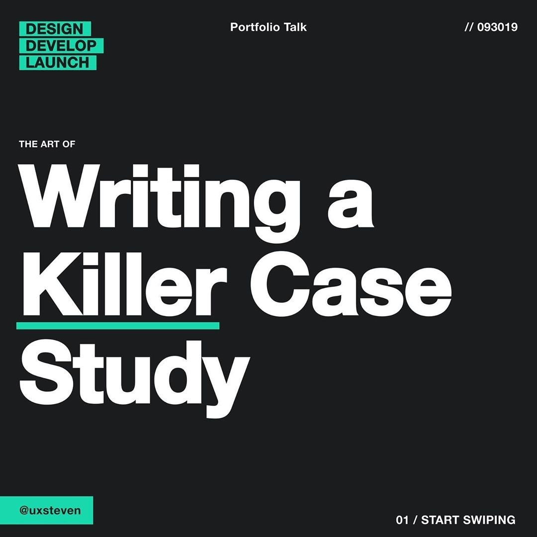 Writing Killer Case Studies for Your Portfolio