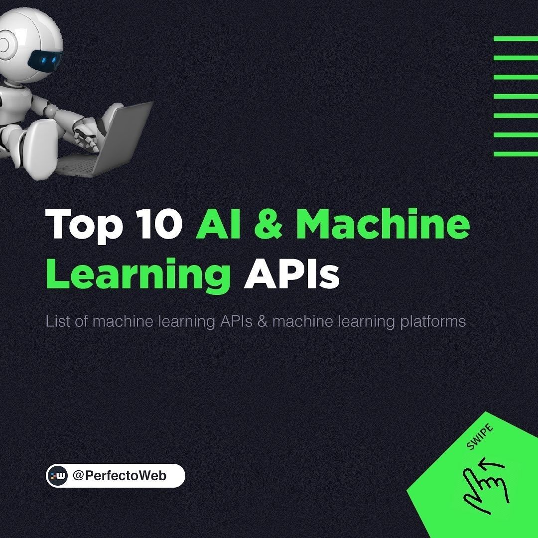 Top 10 AI & Machine Learning APIs
