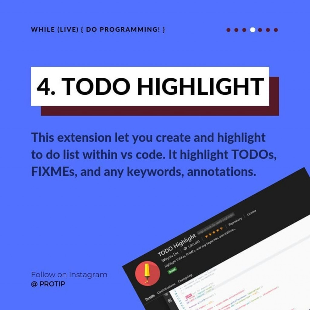 TODO HIGHLIGHT  This extension let you create and highlight to do list within vs code. It highlight TODOs, FIXMEs, and any keywords, annotations.