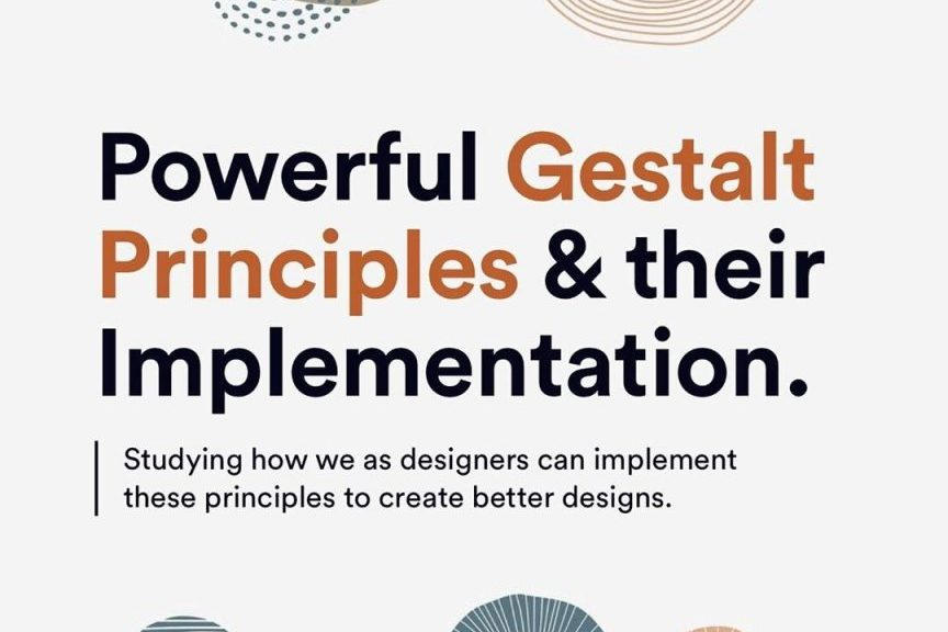 Powerful Gestalt Principles & Their Implementation