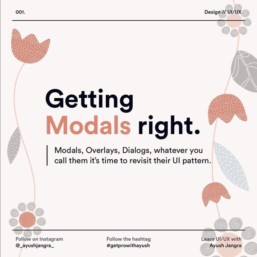 Getting Modals Right
