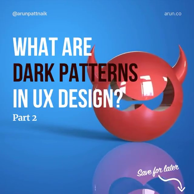 What are Dark Patterns in UX Design? Part 2 🎞