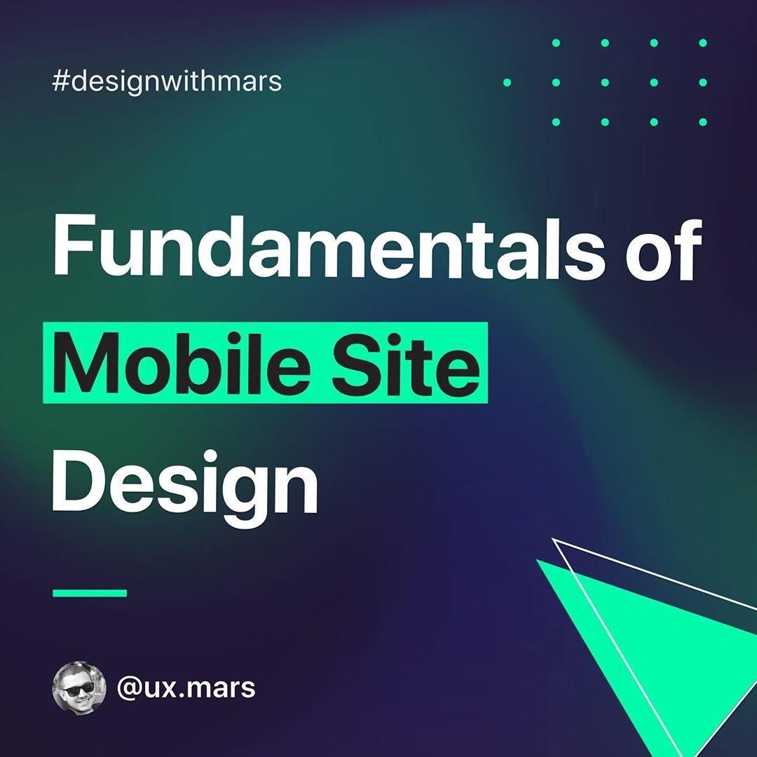 5 Fundamentals of Mobile Site Design