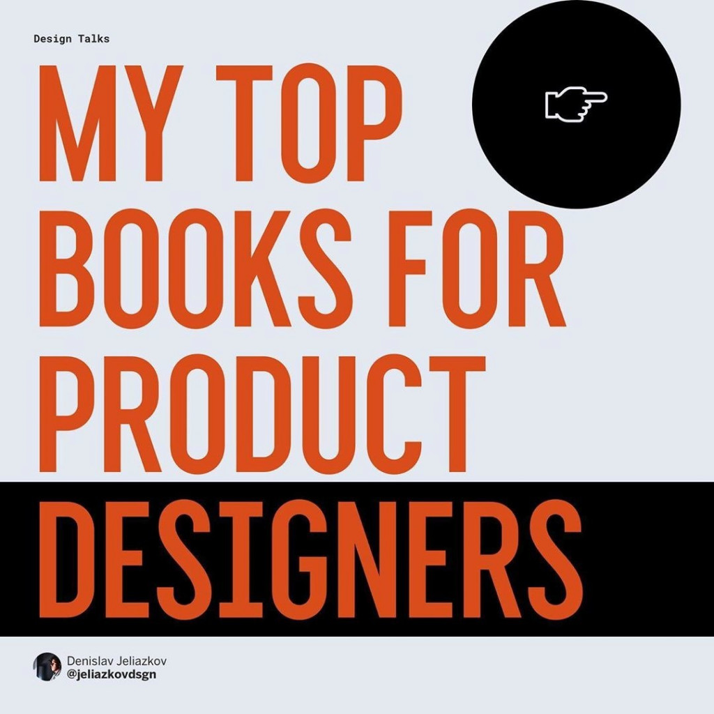 My Top Books For Product Designers