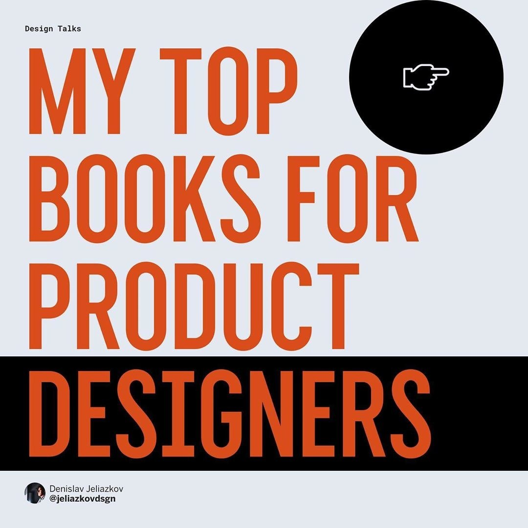 Top 6 Books For Product Designers