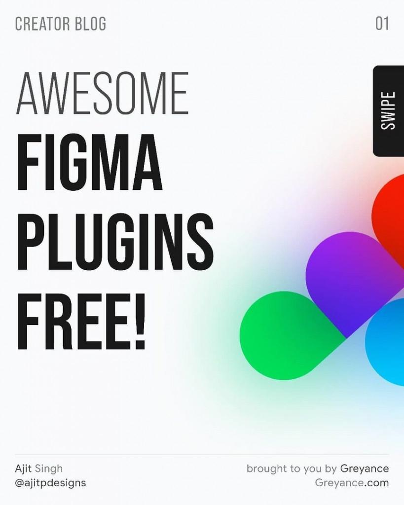 Top 7 Absolute Free Figma Plugins!