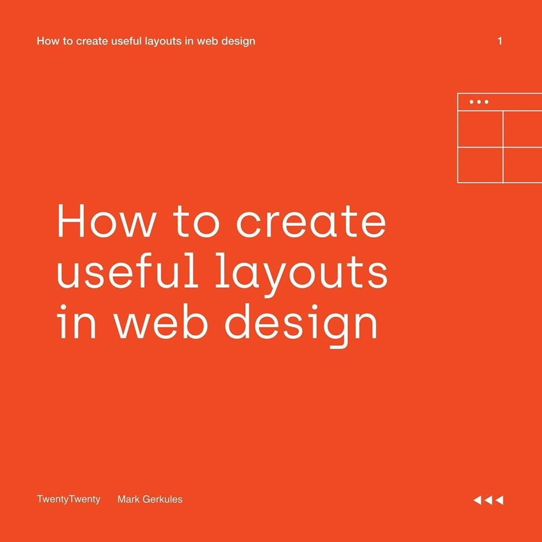 How to Create Useful Layouts in Web Design
