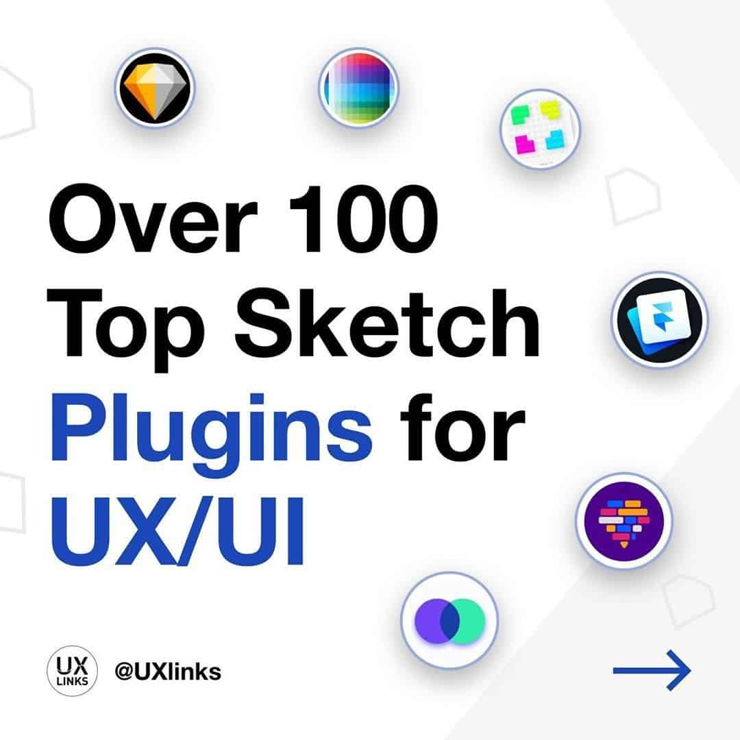 Over 100 Top Sketch Plugins for UX/UI