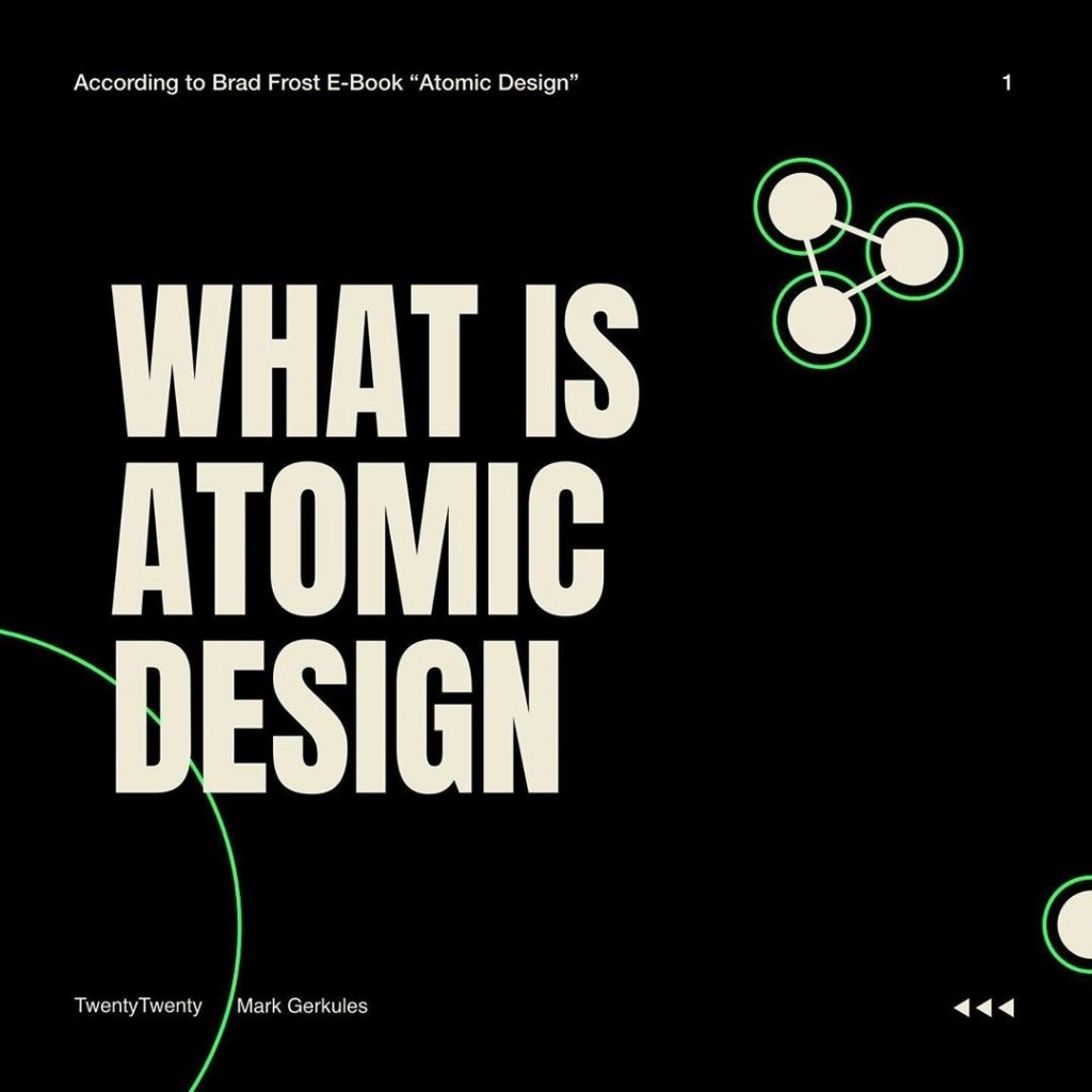 What is Atomic Design