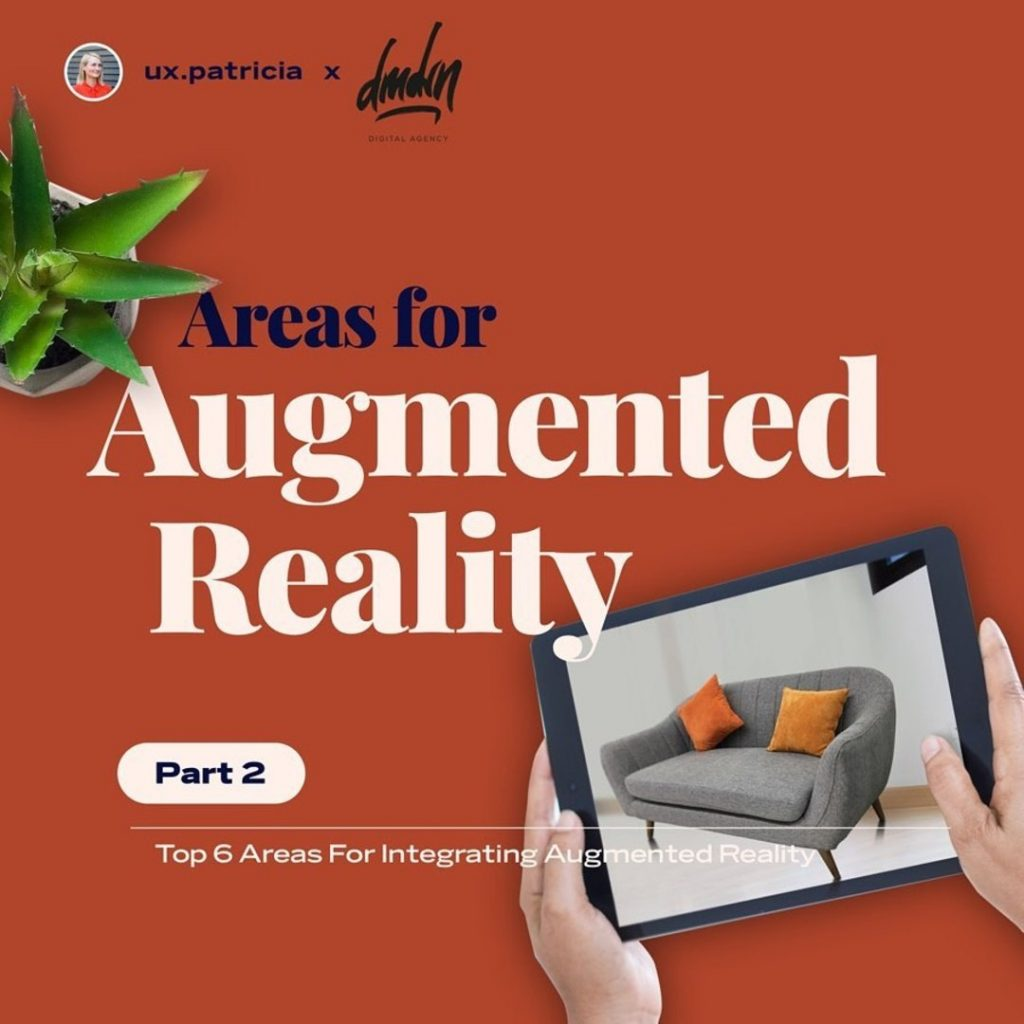 Areas for Augmented Reality