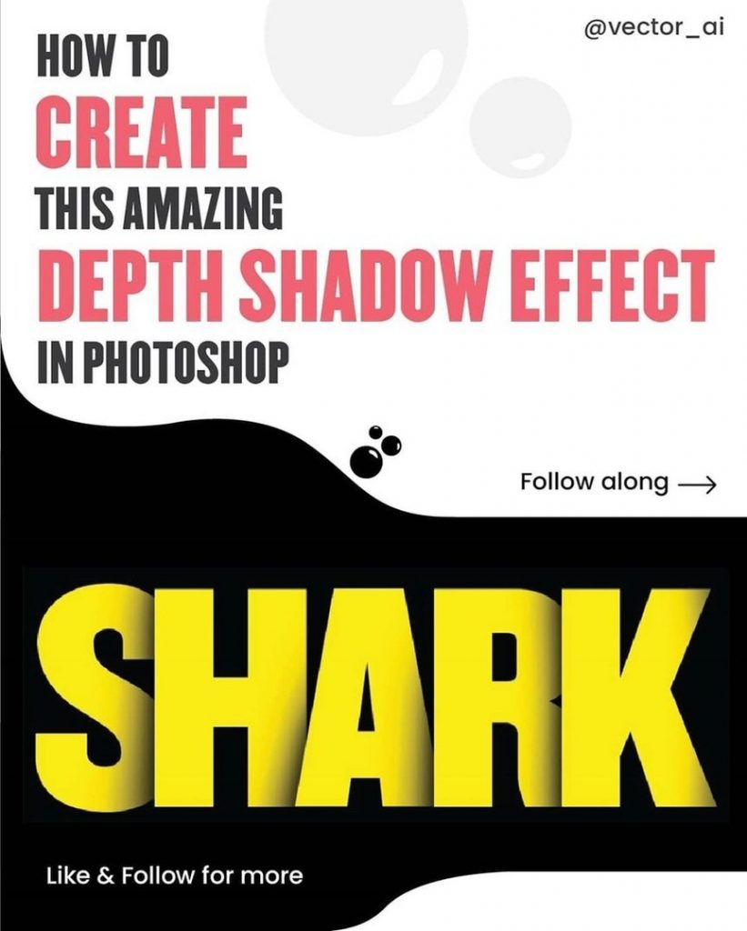 How to Create this Amazing Dept Shadow Effect in Photoshop