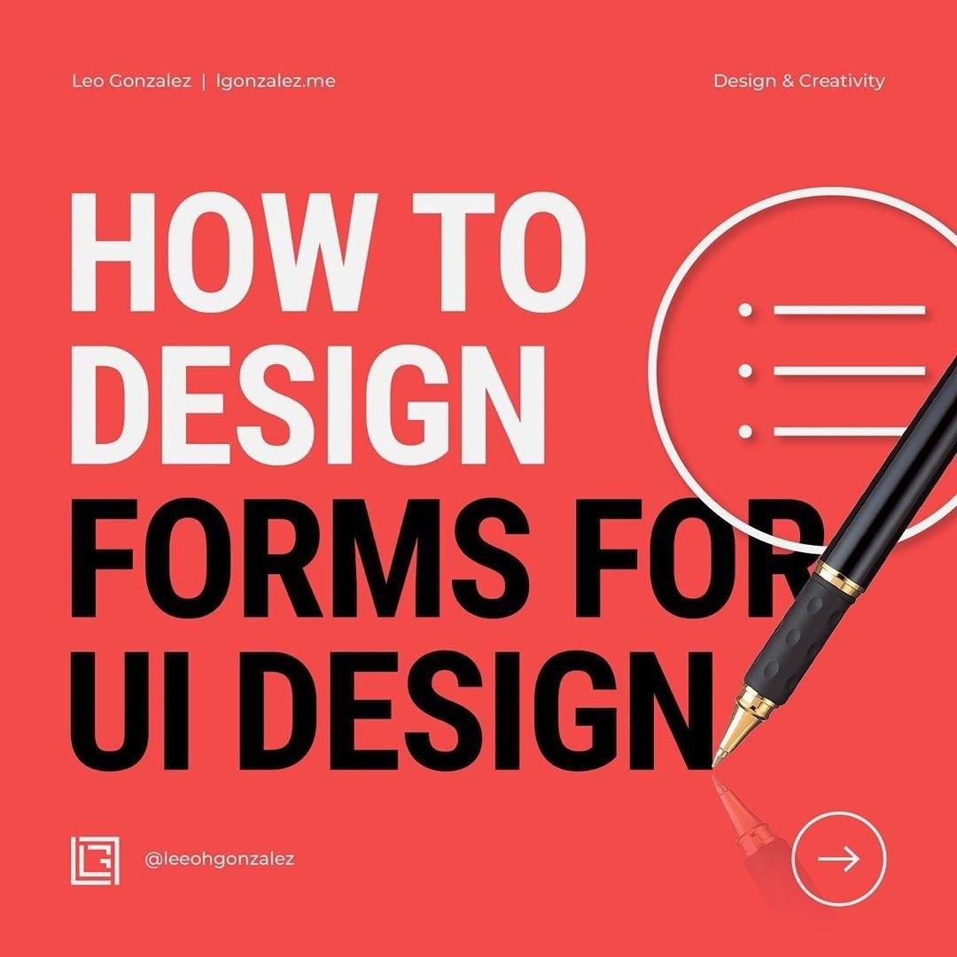 How to Design Forms for UI Design