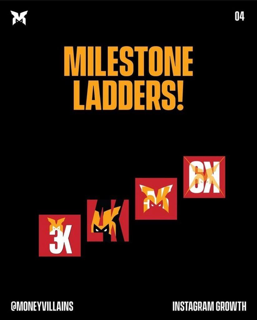 Milestone ladders!