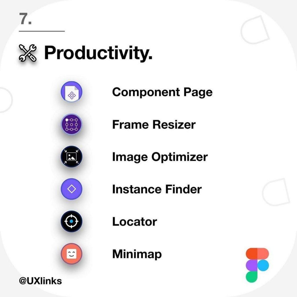 Productivity  Component Page Frame Resizer Image Optimizer Instance Finder Locator Minimap