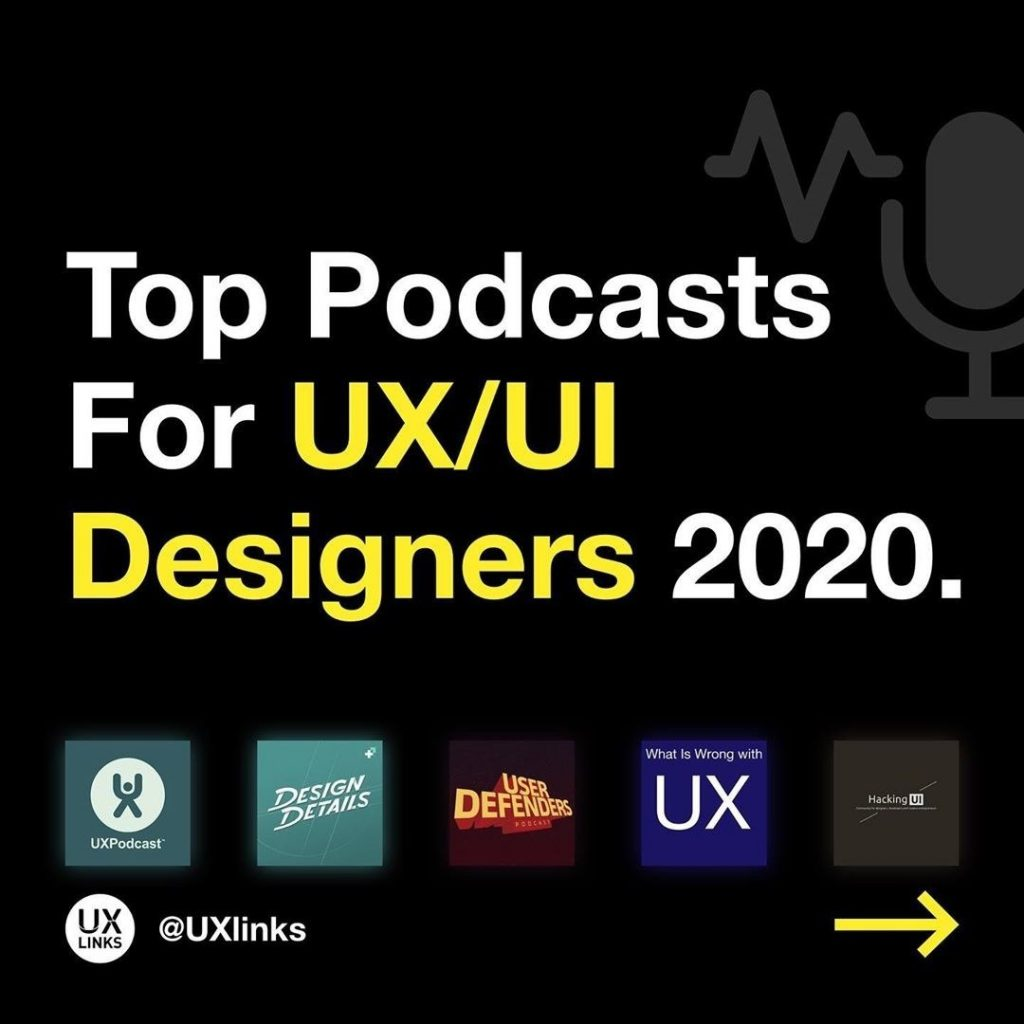 Top Podcasts for UX/UI Designers 2020