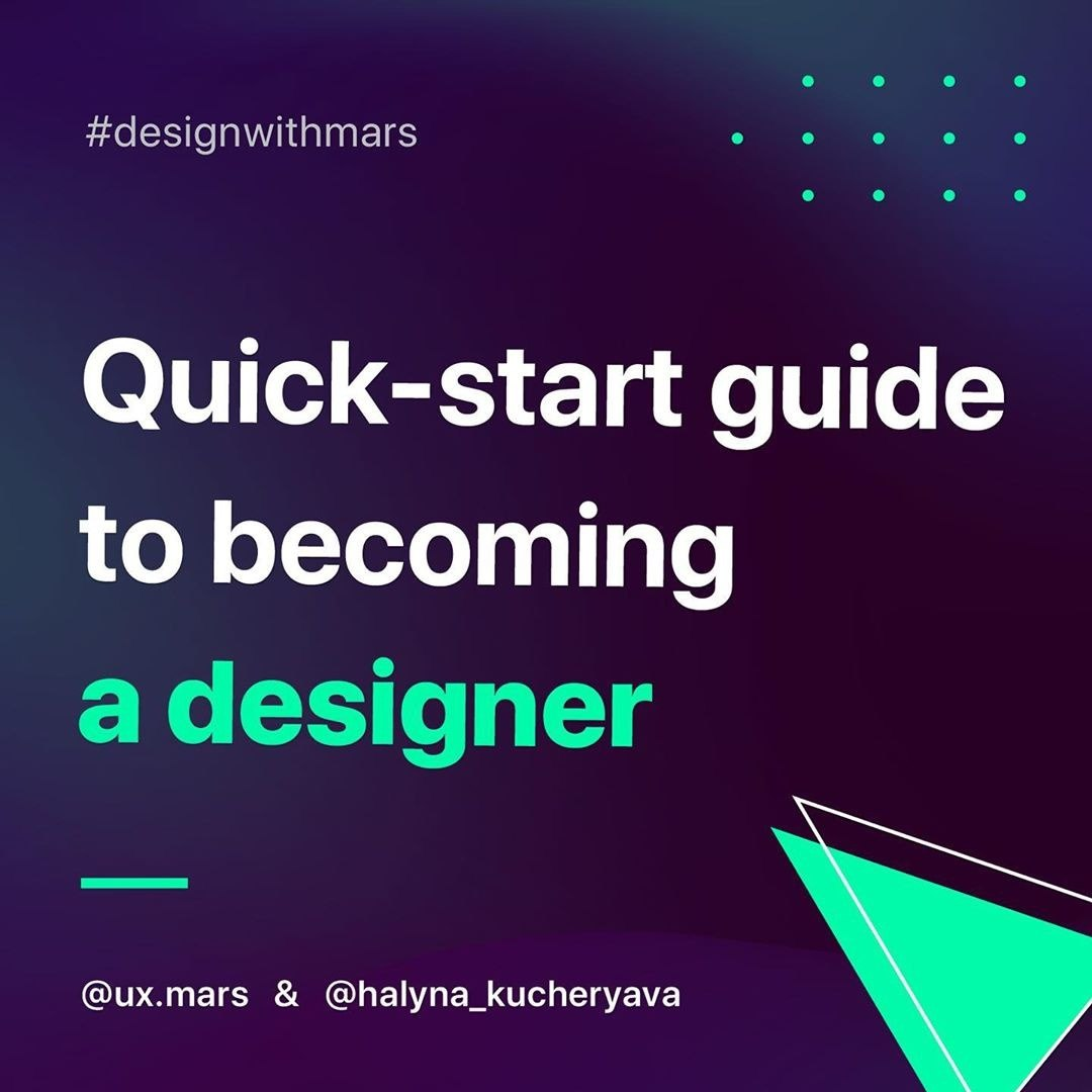 Quick-Start Guide to Becoming a Designer. 6 Steps