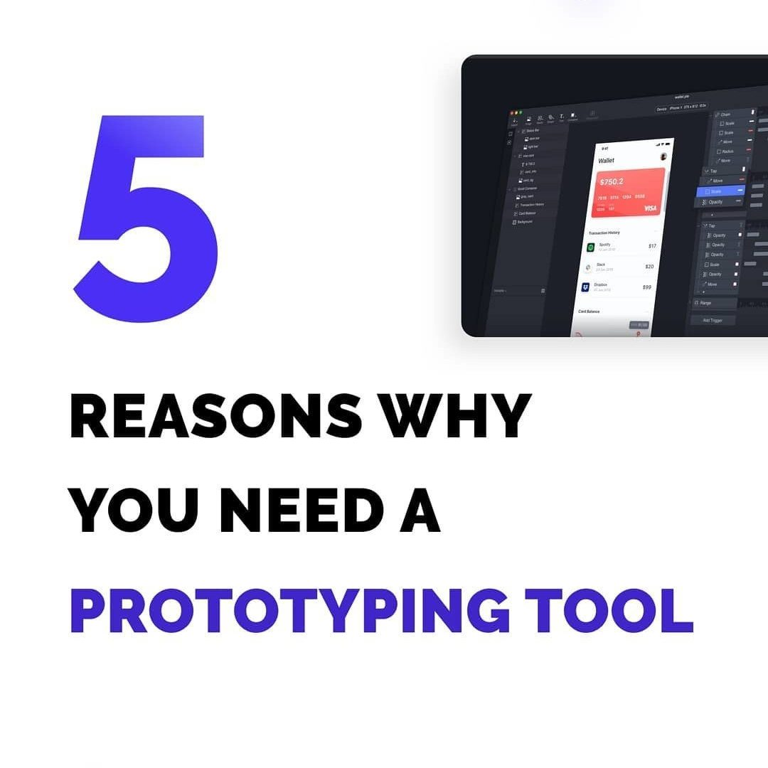 5 Reasons Why do You Need a Prototyping Tool