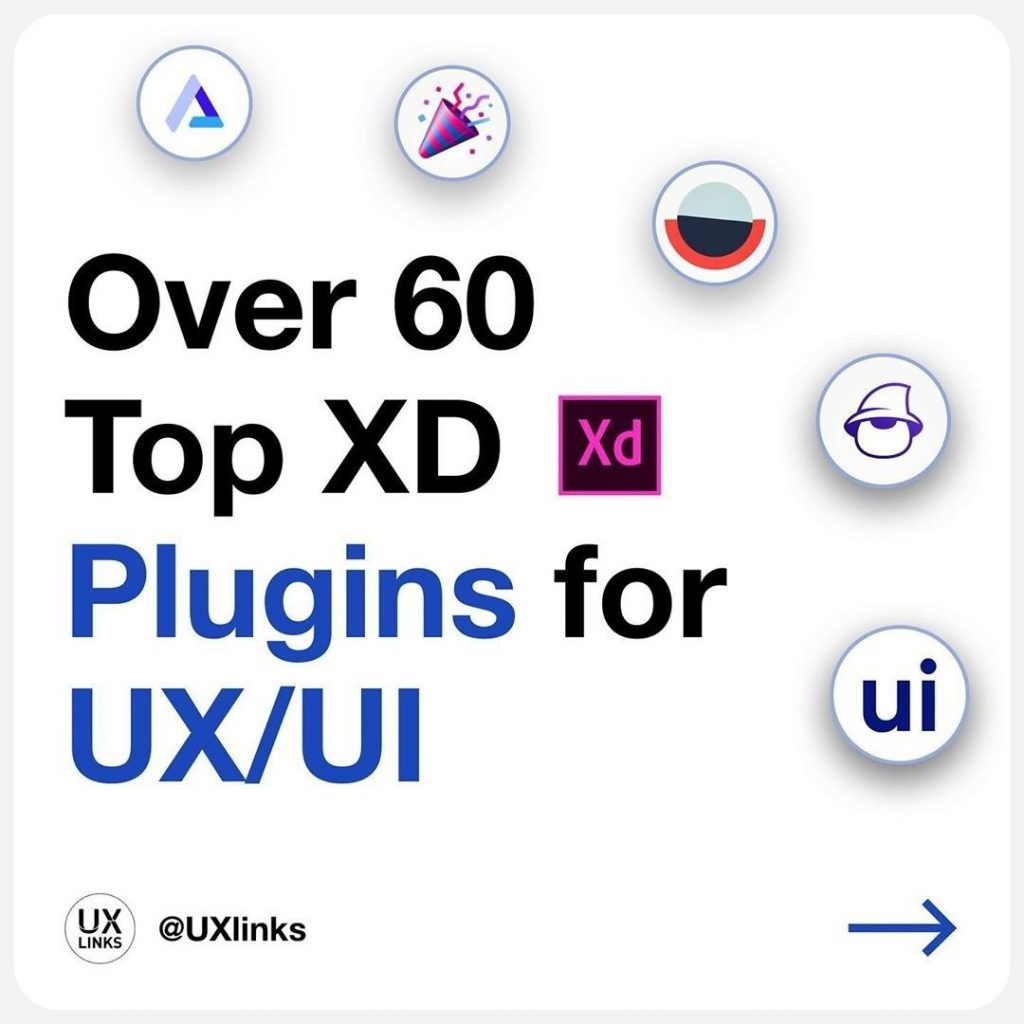 Over 60 Top Adobe XD Plugins for UX/UI