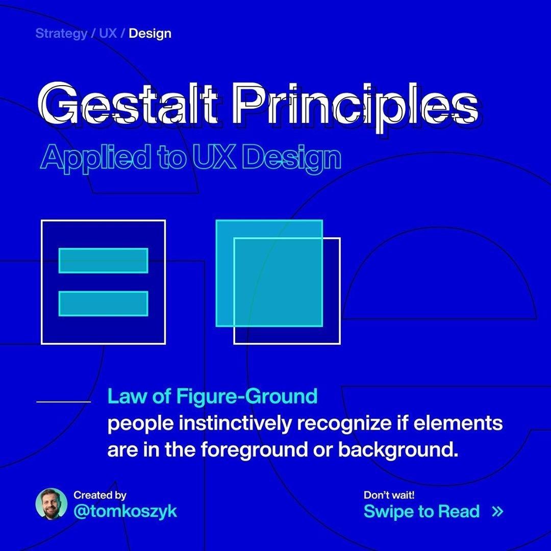 Gestalt Principles. Law of Figure-Ground