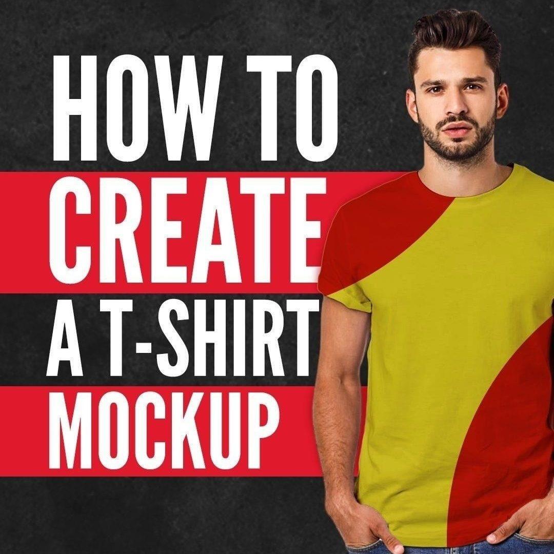 T-Shirt Mockup — Photoshop Tutorial