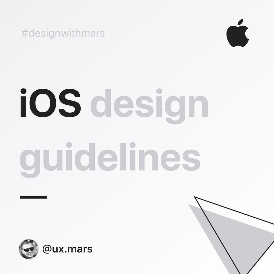iOS Design Guidelines