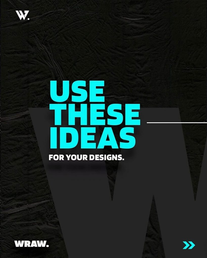 Use these ideas for your designs.