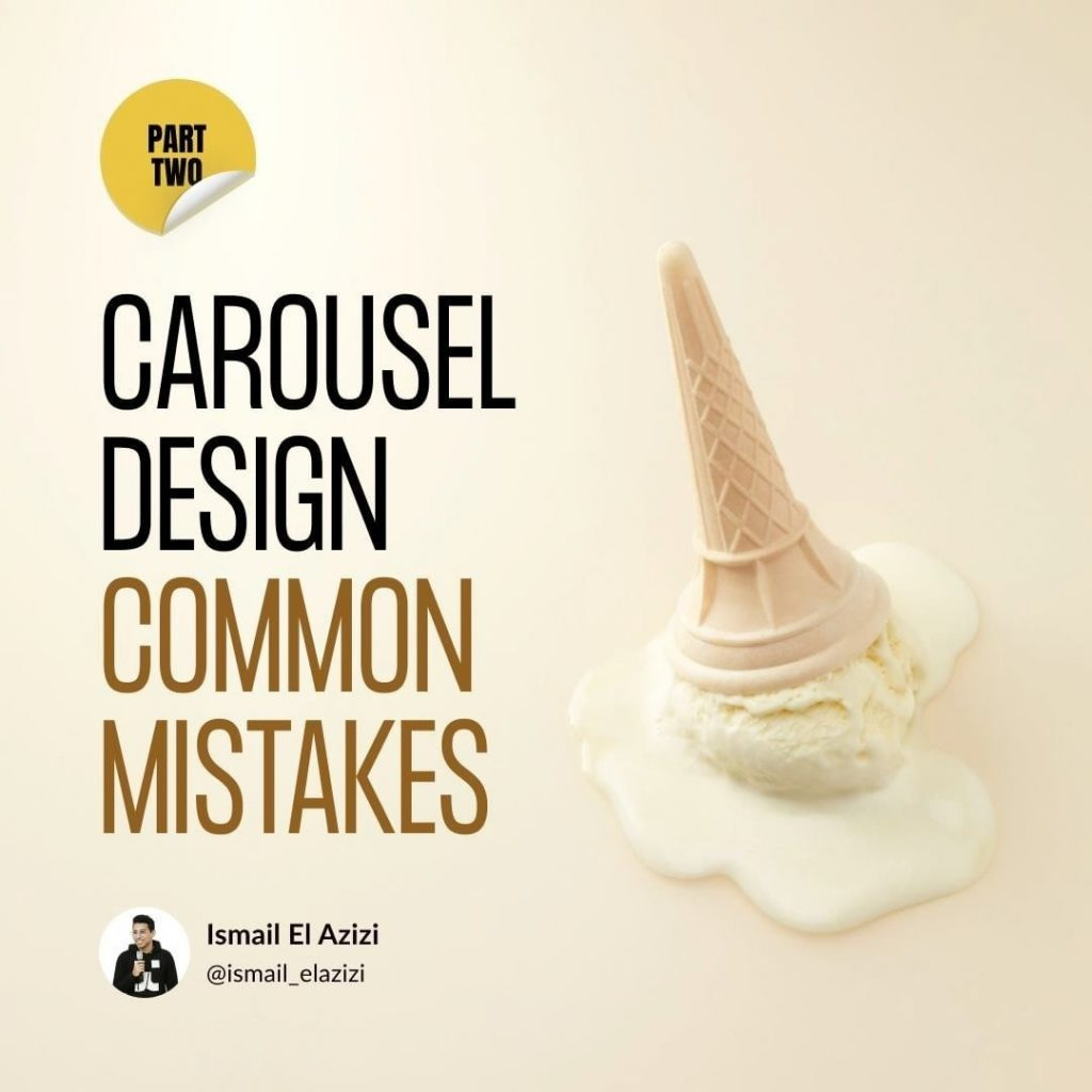 Carousel Design Common Mistakes. Part 2